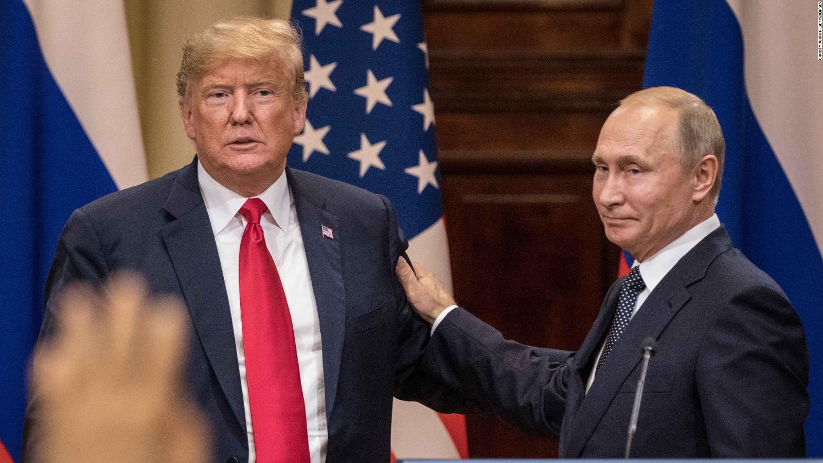 Trump responsabiliza a Putin de la injerencia de Rusia