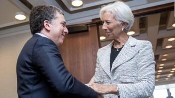 """""""Sin el FMI no tendríamos chances"""", afirmó Fausto Spotorno sobre Argentina"""