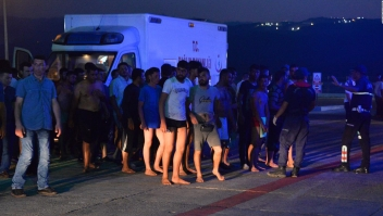 19 inmigrantes mueren en aguas del Mediterráneo