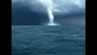 #LaImagenDelDía: impresionante tromba marina