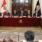 Renuncia el presidente del Poder Judicial de Perú