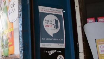 Comercios también son refugios contra el acoso en Argentina