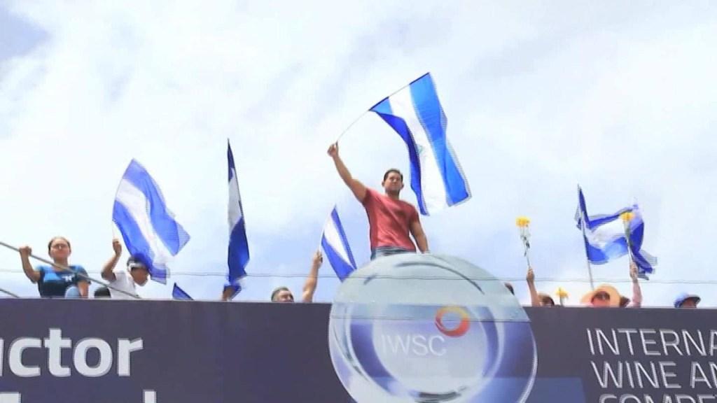 La violencia en Nicaragua lo obligó a huir a hacia Miami