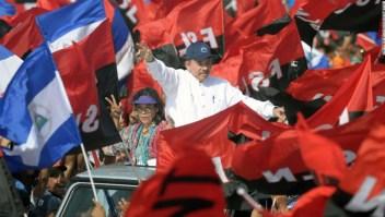 Daniel Ortega y Rosario Murillo, presidente y vicepresidenta de Nicaragua.