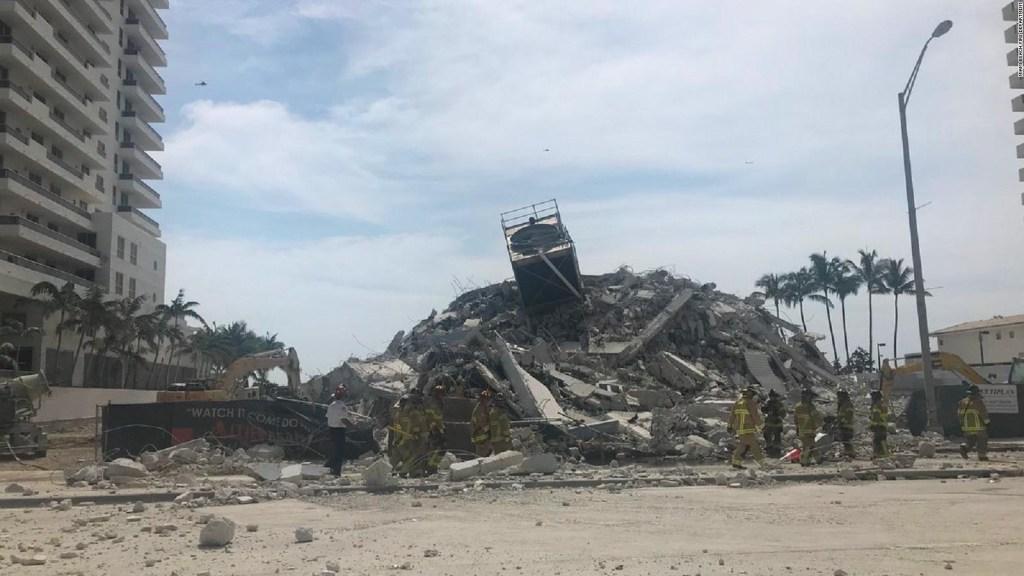 En Miami Beach colapsa un edificio