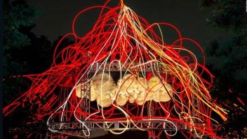 Conoce a la artista peruana que ilumina un parque de Nueva York