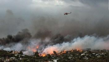 #MinutoCNN: Decenas de muertos por incendios masivos en Grecia