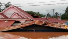 Colapso de represa en Laos