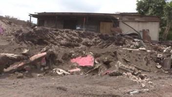 """Sobreviviente del Volcán de Fuego: """"Aún hay familias completas enterradas"""""""