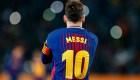 Hace 10 años que Messi usa la camiseta '10' del Barça