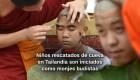 #MinutoCNN: Niños rescatados en Tailandia serán monjes