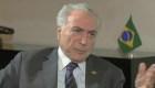 """Michel Temer dice que no hay una """"guerra comercial"""" con EE.UU."""