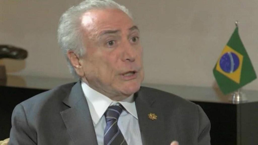 Michel Temer destaca ley de inmigración que beneficia a venezolanos