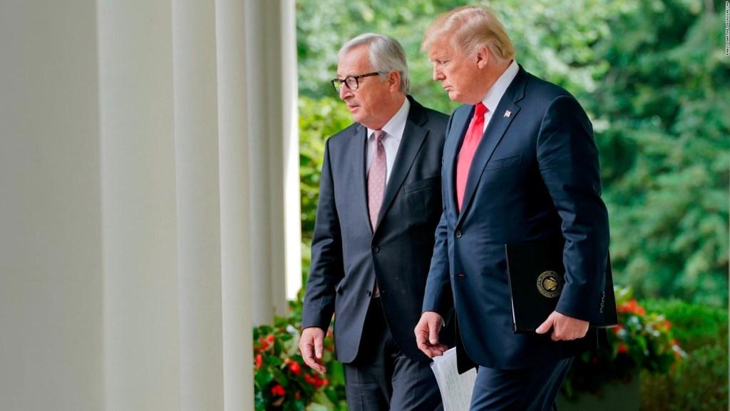 ¿Qué acordó Estados Unidos con la Unión Europea?