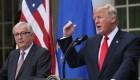 Las contradictorias críticas entre Trump y Juncker