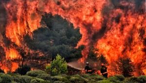 Incendios de Grecia: La mano del hombre pudiera estar detrás de uno de ellos