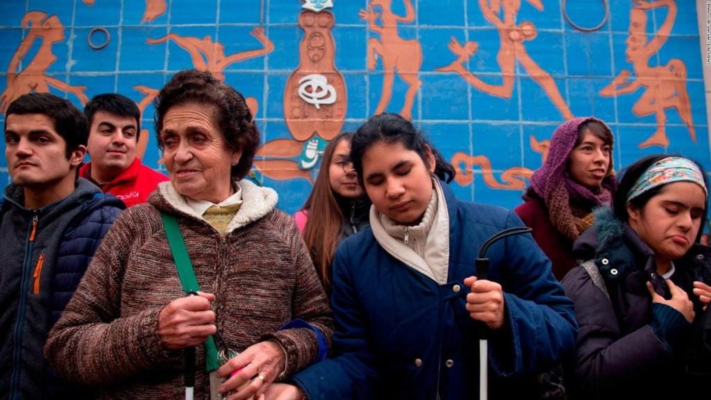 Murales para ciegos en Chile