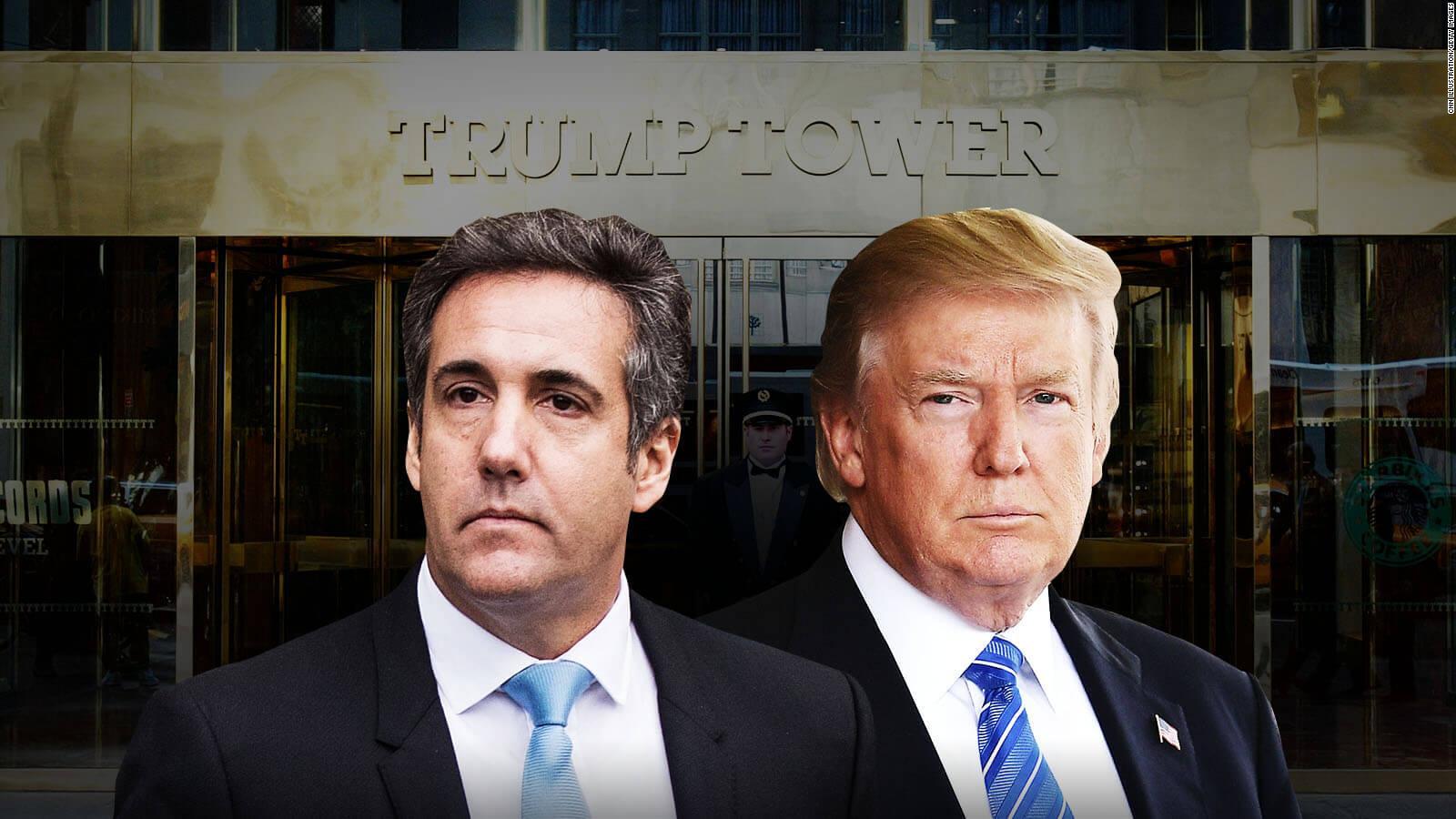 #MinutoCNN: Trump niega afirmaciones de Cohen sobre reunión con rusos en la Torre Trump