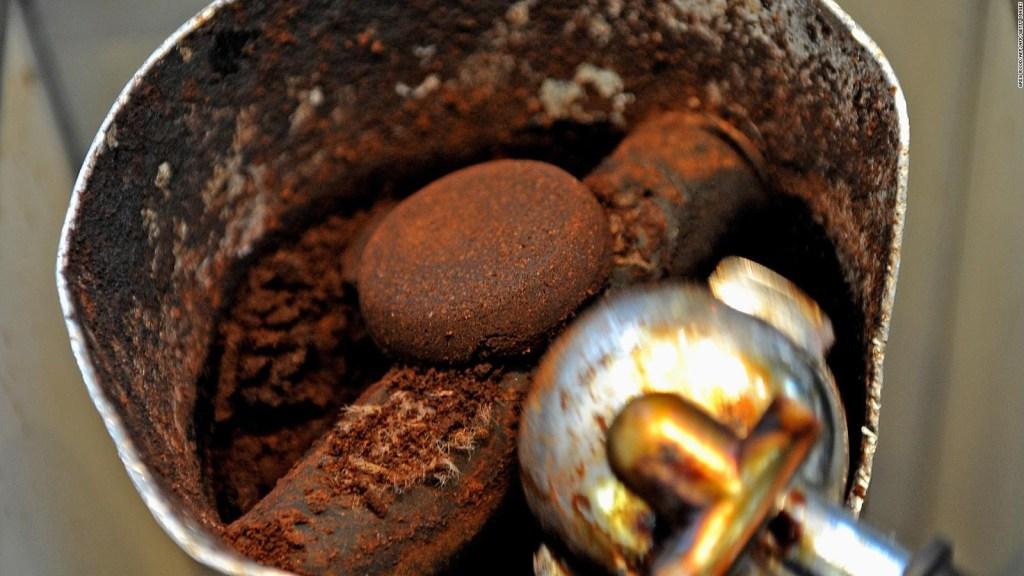 Café como materia prima de las baterías