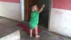 Un bebé de 15 meses se reúne con sus padres en Honduras