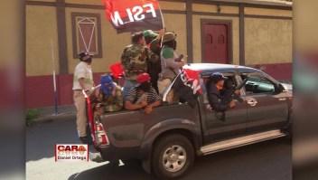 """Ortega: Foto de paramiliares sería montaje de """"la derecha"""""""
