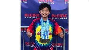 Este joven nadador superó un récord de Michael Phelps
