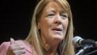 """Aportes de campaña: Stolbizer dijo que la gobernadora Vidal """"no podía no saber"""""""