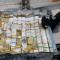 La Armada Nacional de Colombia se incautó de más de 50 kilos de oro en lingotes. Pertenecían al clan del Golfo. (Crédito: Armada Nacional de Colombia).