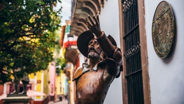 Guanajuato tiene un museo dedicado a Don Quijote, de Miguel de Cervantes.