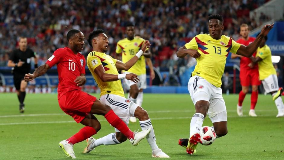 El ganador del partido entre Colombia e Inglaterra se enfrentará a Suecia en cuartos de final del Mundial. (Crédito: Clive Rose/Getty Images)
