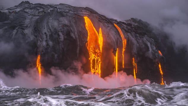El Kilauea es el volcán más activo de Hawai.