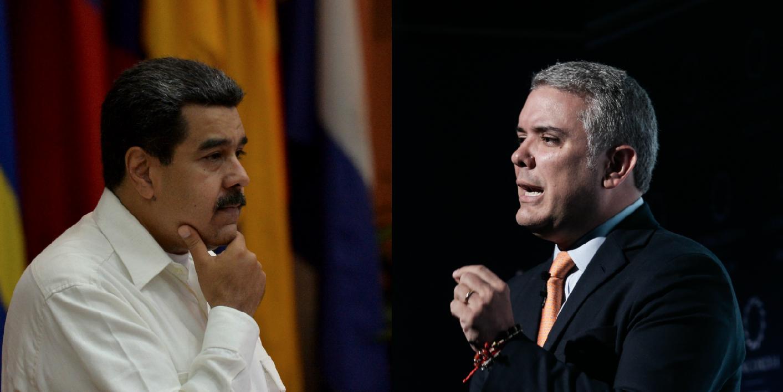 """Maduro acusa a Duque de planear asesinarlo y Colombia lo llama """"tirano"""""""