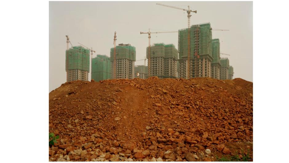 """""""Chongqing III, Chongqing Municipality"""" (2006) por Nadav Kander"""