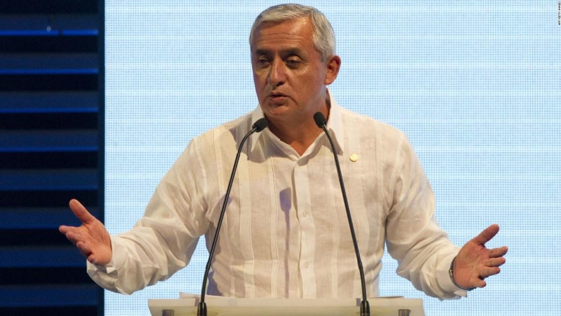 Guatemala: Otto Pérez permanece estable