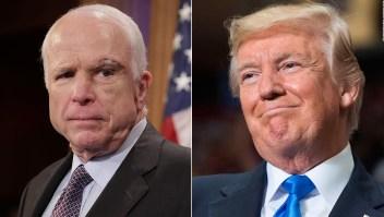 Trump no soportaba a John McCain