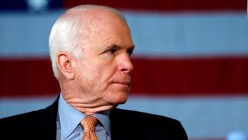 John McCain pidió que Trump no sea invitado a su funeral
