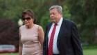 #MinutoCNN: Los padres de Melania Trump obtuvieron la ciudadanía con proceso que Donald Trump critica
