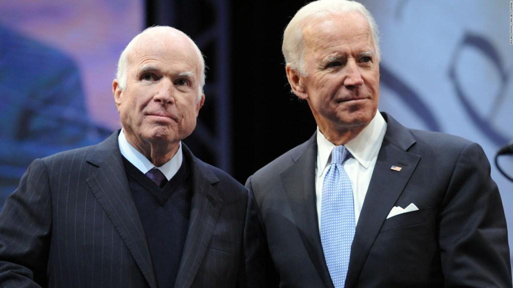 """Carácter y honor"", así recuerdan a John McCain"