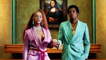 Fan se lanzó hacia Jay-Z y Beyoncé en un show en Atlanta