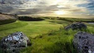 Así se vive el golf en la tierra del fuego y el hielo