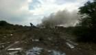 Autoridades investigan por qué cayó un avión en Durango