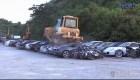 Mira la destrucción de estos autos de lujo en Filipinas