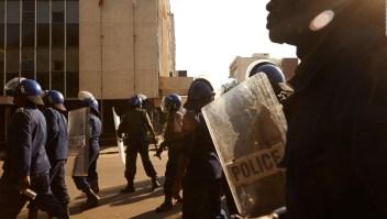 Enfrentamientos en Zimbabwe tras triunfo de oficialista en las elecciones