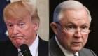 Trump le pide a Sessions poner fin a investigación rusa