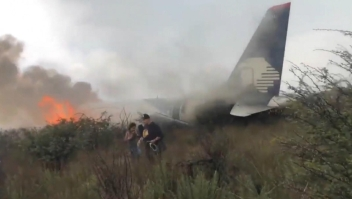 Sobrevivientes de accidente demandan a Aeroméxico