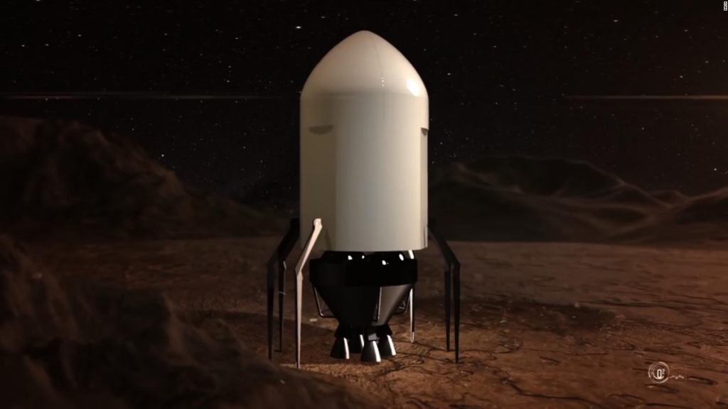 Concurso de la NASA para construir casas en Marte