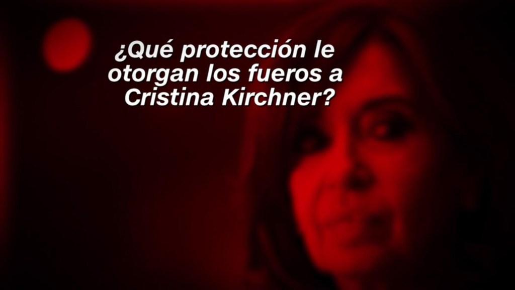 ¿Qué protección le otorgan los fueros a Cristina Kirchner?