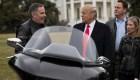 #MinutoCNN: Trump llama a boicotear a Harley Davidson