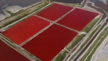 #LaImagenDelDía: El lago que cambió de color