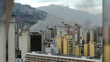 Testigo en Caracas narra cómo vio el humo de las explosiones